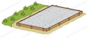 Dalle beton abri jardin