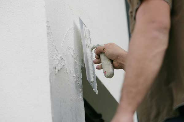 enduit mur facade