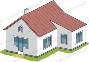 extension maison laterale contigue