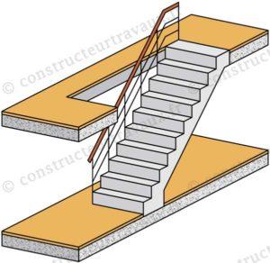 tremie escalier