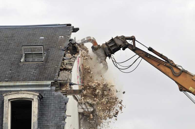 demolition maison