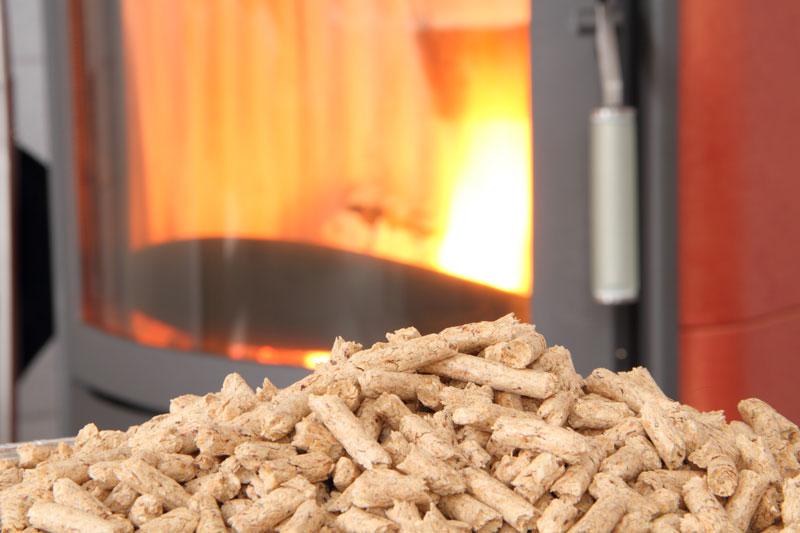poêle à granulés de bois