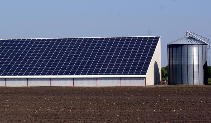 batiment agricole photovoltaique