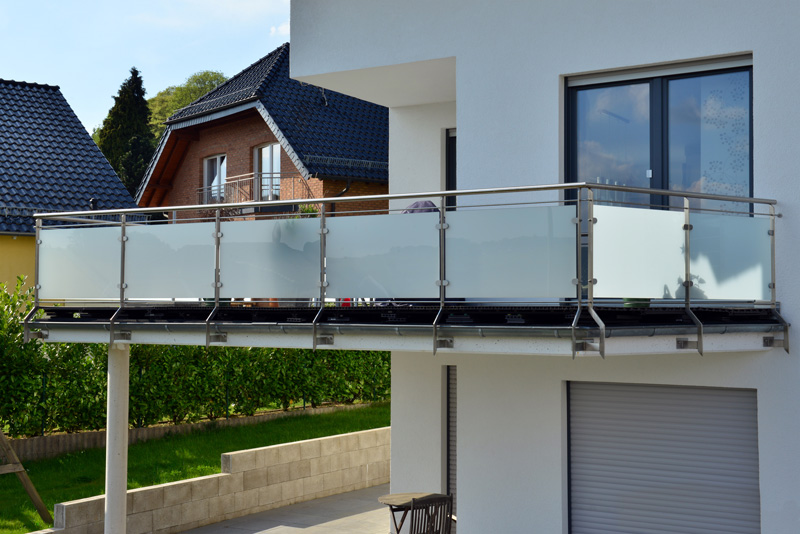 balustrade terrasse suspendue