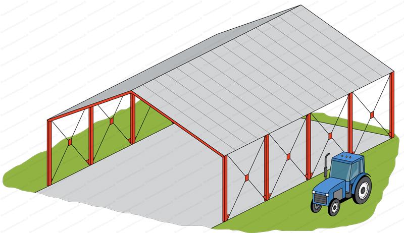 hangar métallique