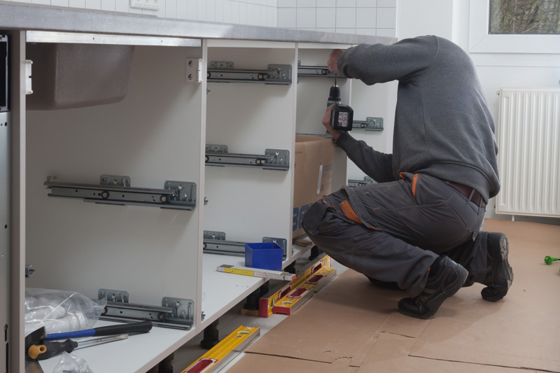 installation meuble cuisine