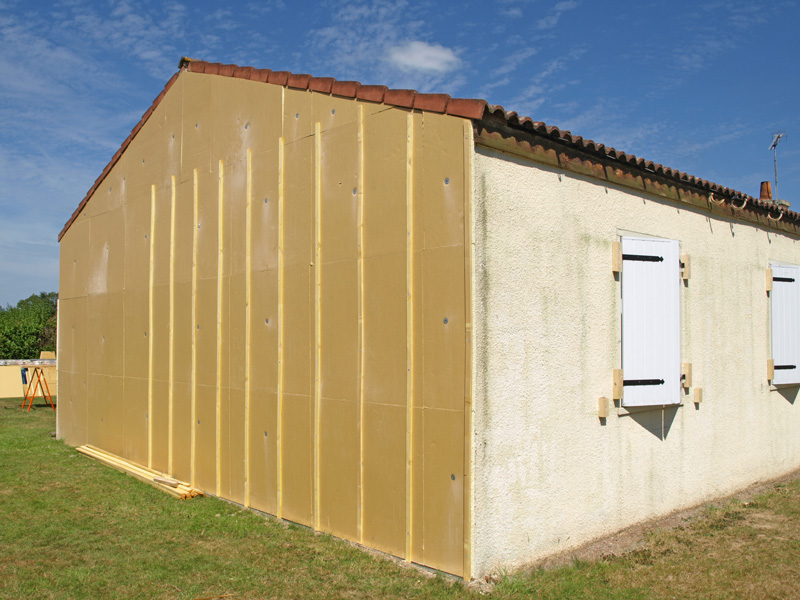 isolation extérieur maison