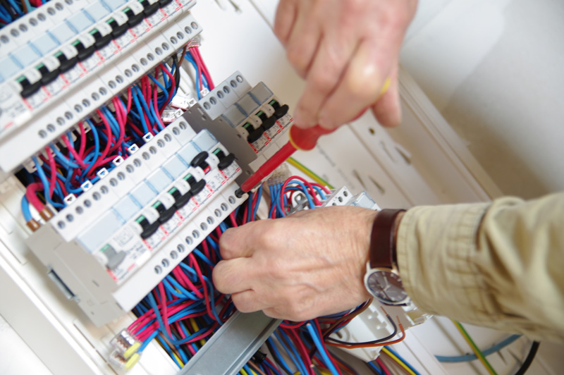 pose tableau electrique