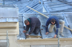 toiture zinc travaux