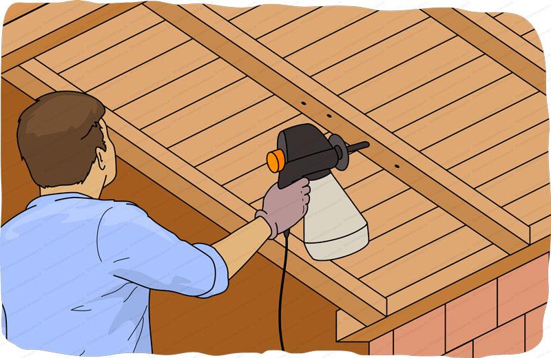 traitement poutre bois par injection