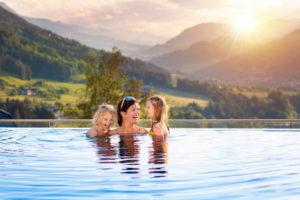 piscine debordement