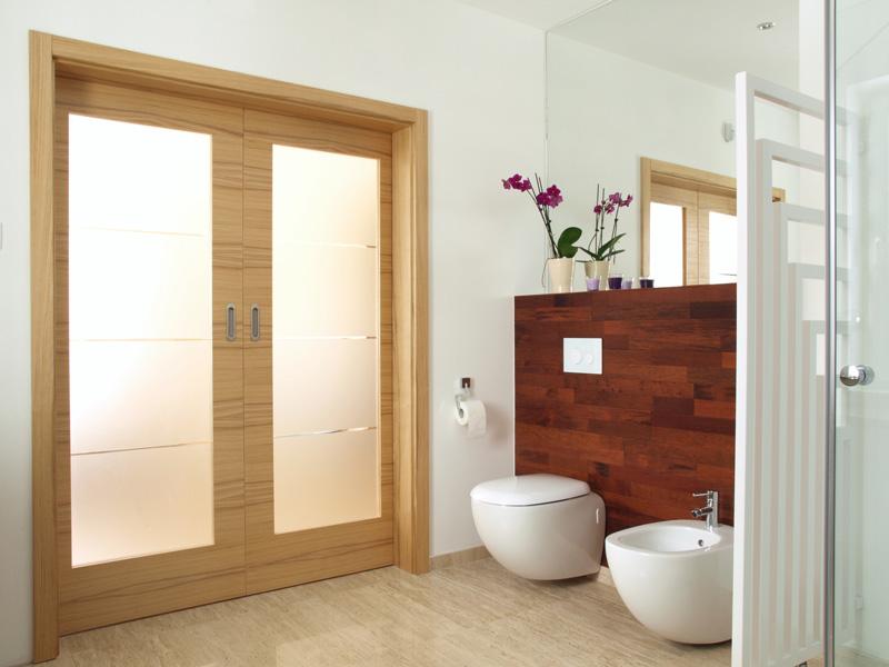 porte coulissante salle de bain