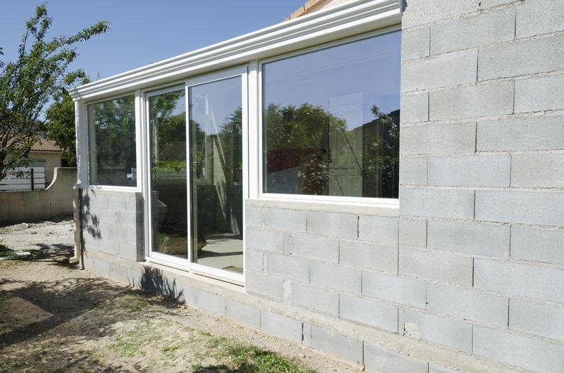extension de maison maçonnée parpaing