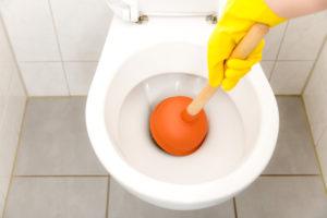 débouchage toilette