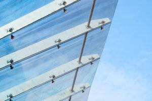 marquise porte aluminium