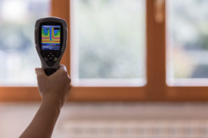 isolation fenetre mesure des fuites thermiques