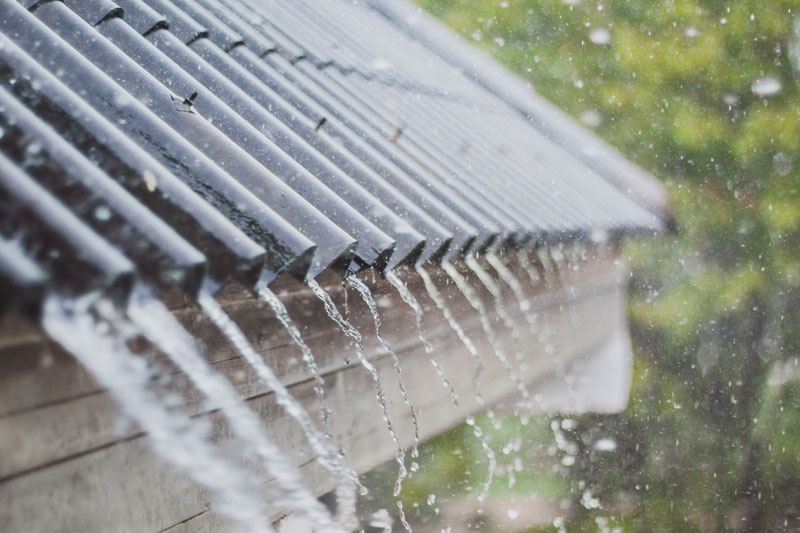 pluie toiture