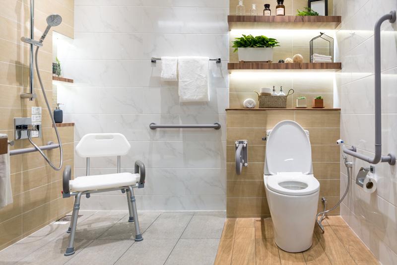 Aménagement de la salle de bain pour PMR | Conseil, prix