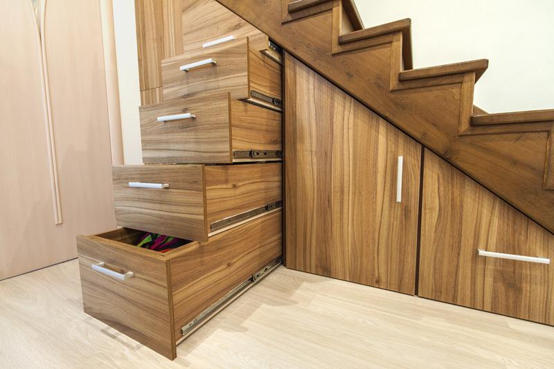 4 Conseils Pour Amenager Un Rangement Sous Escalier