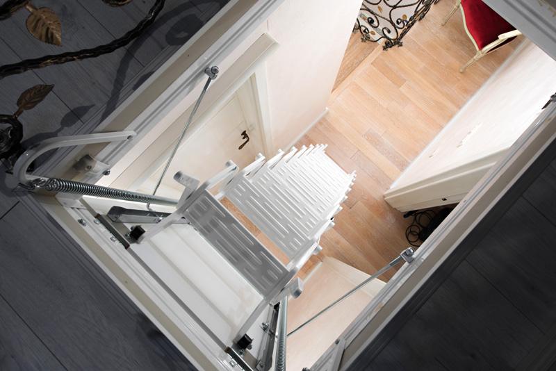 escalier comble