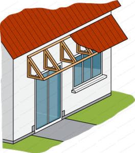 avancée de toit