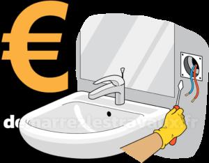Prix electricite salle de bain