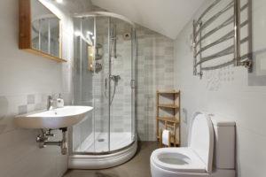 La salle de bain 5 m²