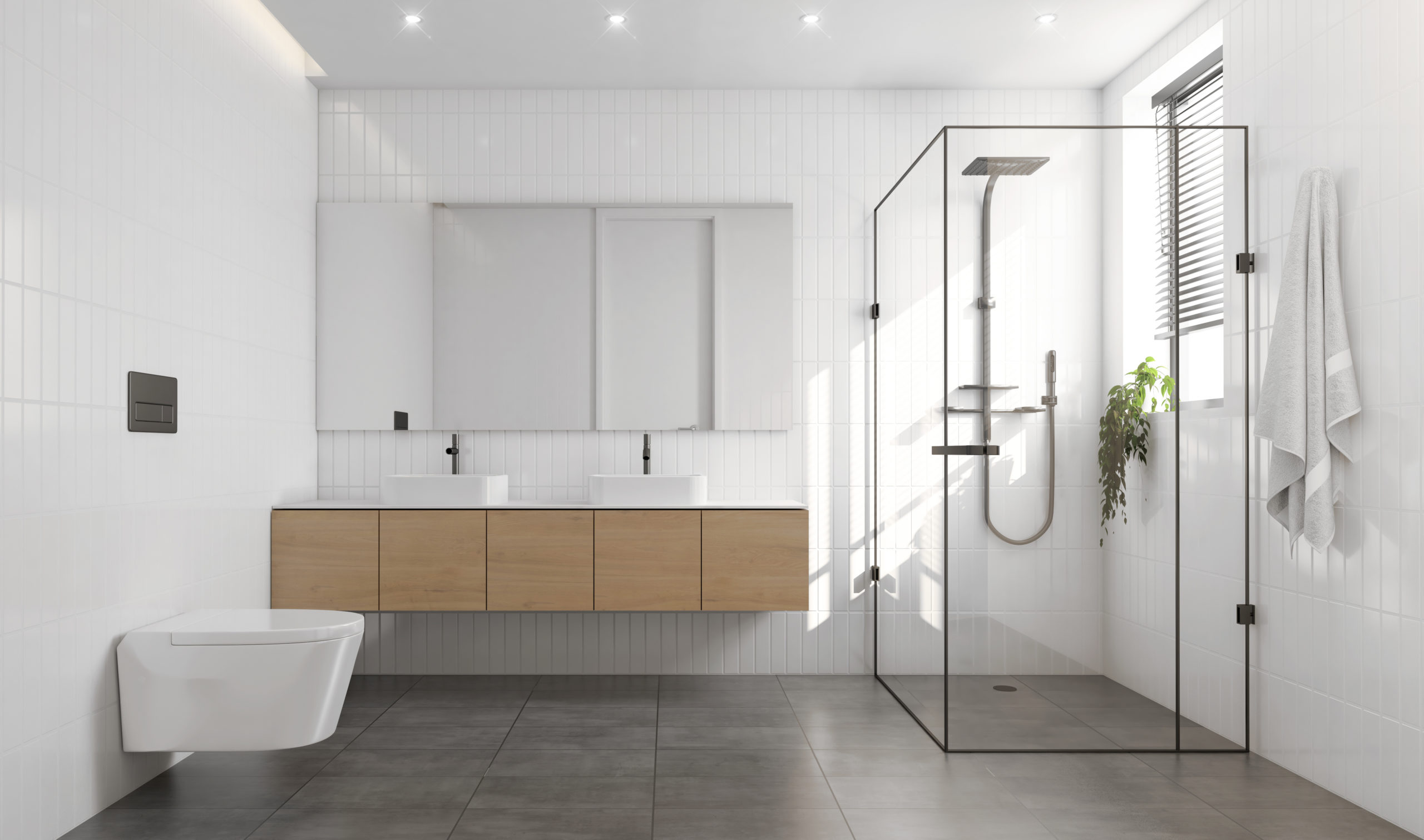 Salle De Bain Et Salle D Eau Différence prix et installation d'une verrière de salle de bain - tarif