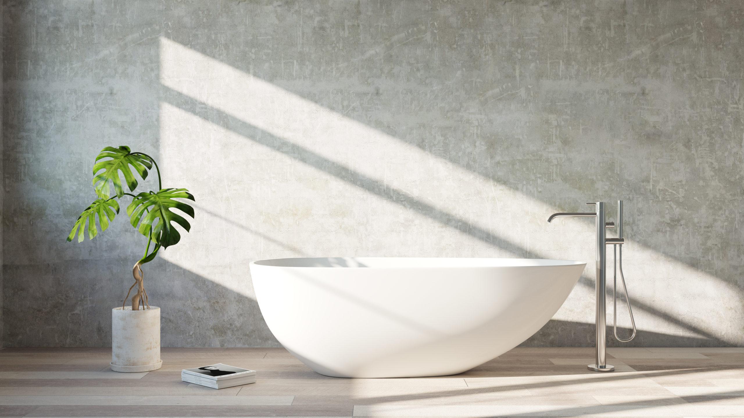 Comment Nettoyer Une Baignoire En Fonte Émaillée prix et pose d'une baignoire îlot - prix moyen & tarif de pose