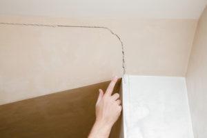 Fissure-plafond