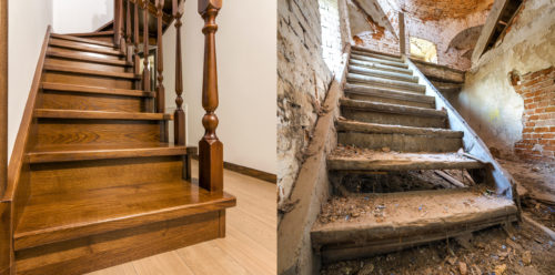 Renovation-escalier